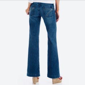 7 for all mankind Dojo wide leg  jeans
